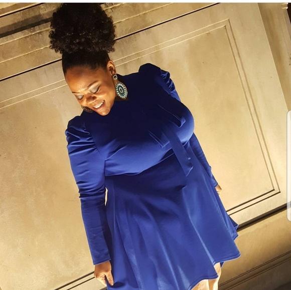 Sexy Diva Dresses & Skirts - Blue high low dress
